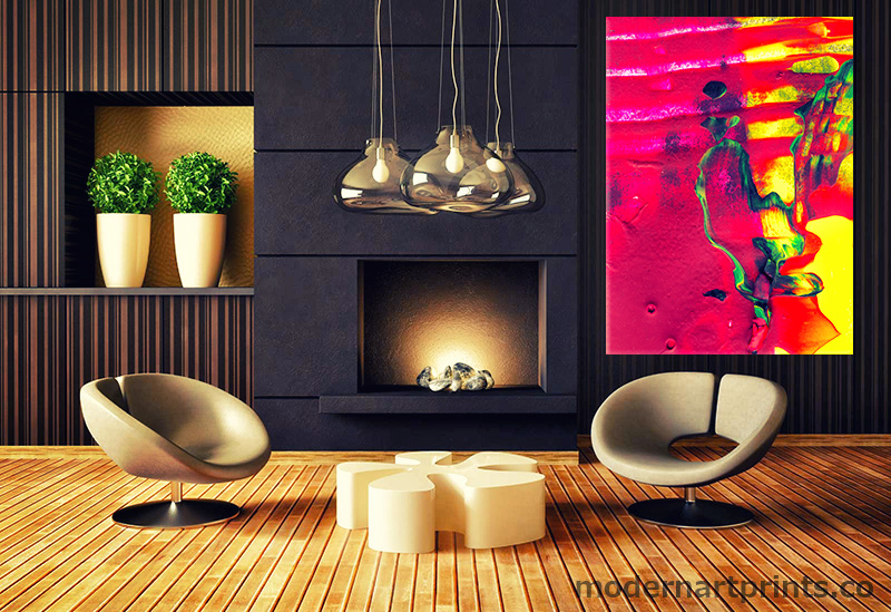 Modern Art – Canvas Print